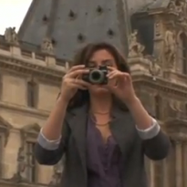 Dusk Outside the Louvre (VIDEO)