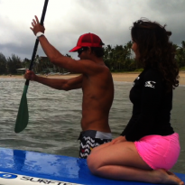 A Stand Up Paddle Board Lesson in Kauai (VIDEO)