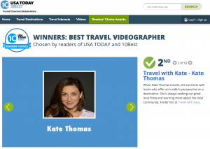 USA TODAY & 10BEST Contest Results