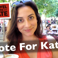 A Nomination and News! An Update from Kate – July 2014