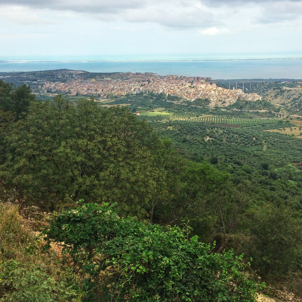 The Gargano countryside.