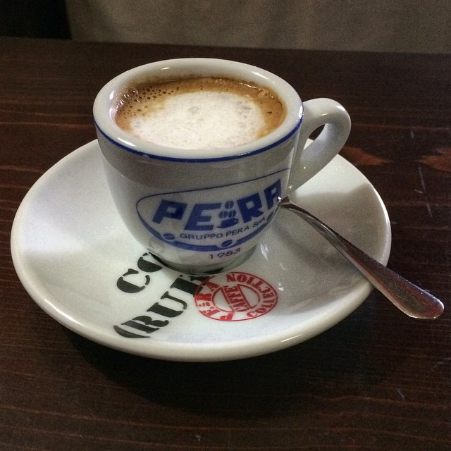 My lovely cafe macchiato!