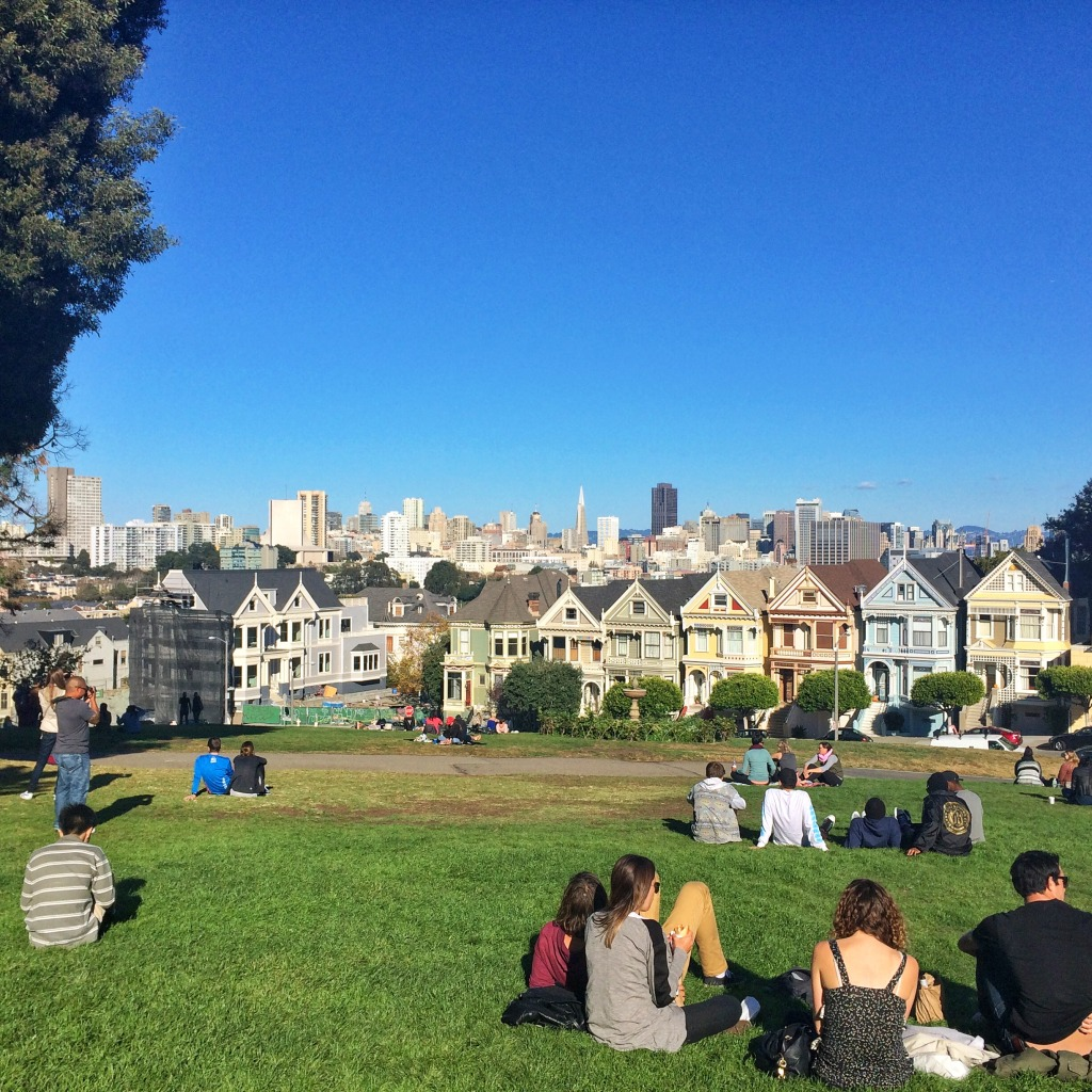 Travel with Kate San Francisco Painted Ladies