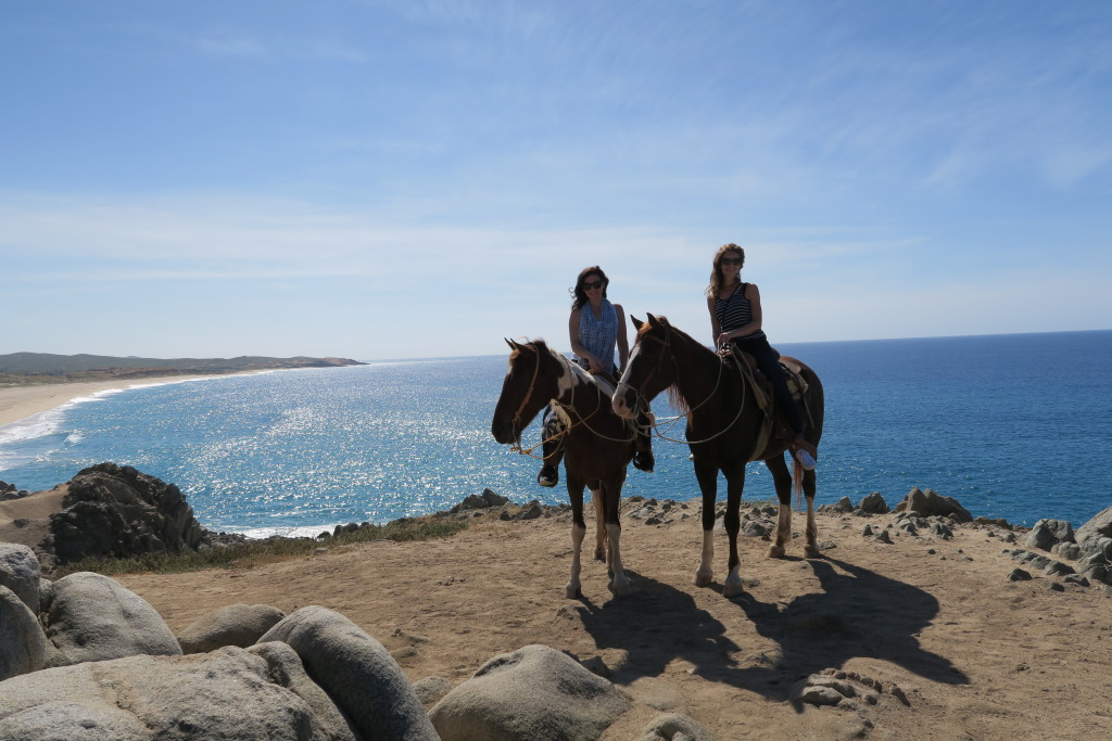 Horsebackriding in Cabo Travel with Kate